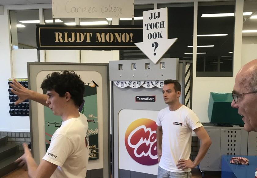 TeamAlert voerde onlangs het project Go-MONO uit op het Candea College.