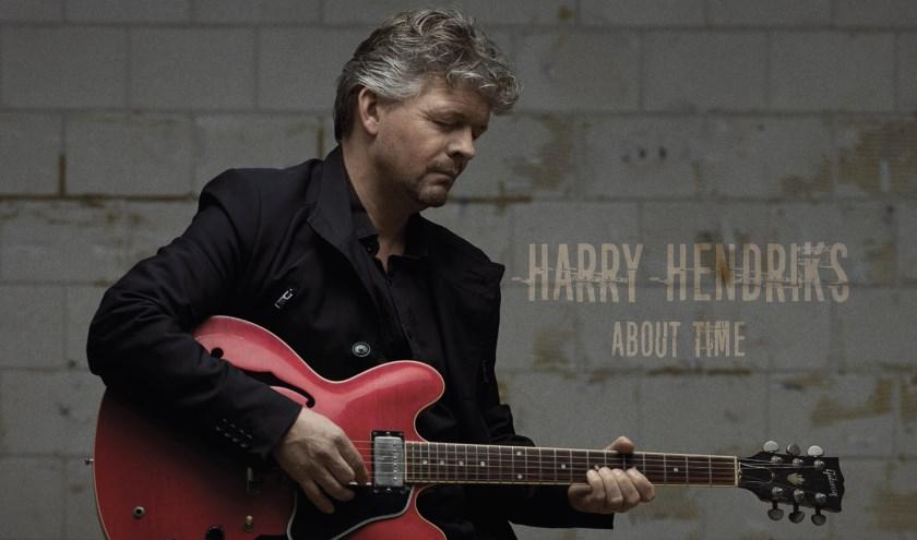 Harry Hendriks presenteerde dit jaar een eerste eigen Engelstalig album getiteld 'About Time'.
