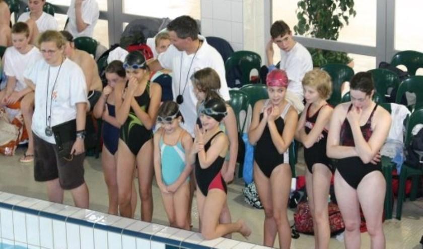 Dit zijn de eerste clubkampioenschappen sinds zwembad de Wedert gerenoveerd is.