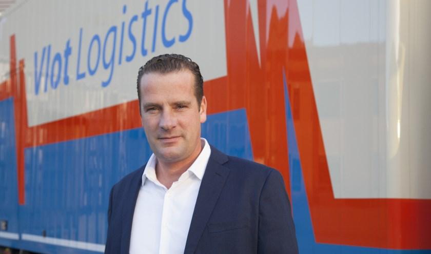 Commercieel directeur Jan Wouter Vlot. (Foto: Vlot Logistics)