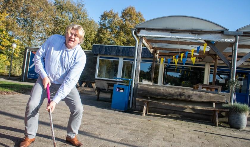 Raymond Peelen is de enthousiaste nieuwe voorzitter van MHC Epe. (foto: Dennis Dekker)