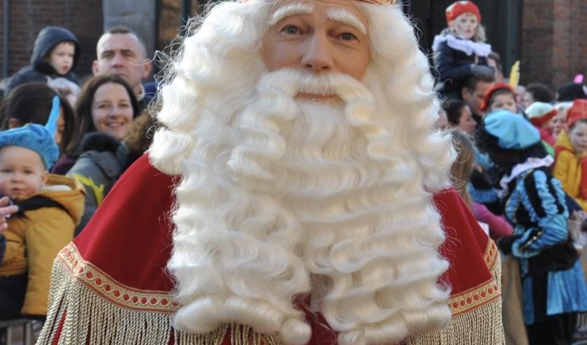 Sint wordt op zondagmiddag 17 november in Waalwijk verwacht.