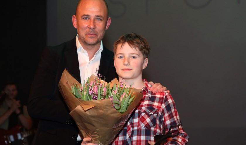 Sporttalent 2018, Klaas-Jan Zwolsman , G.V. Voorwaarts ,Turnen. FOTO: Theo van Sambeek.