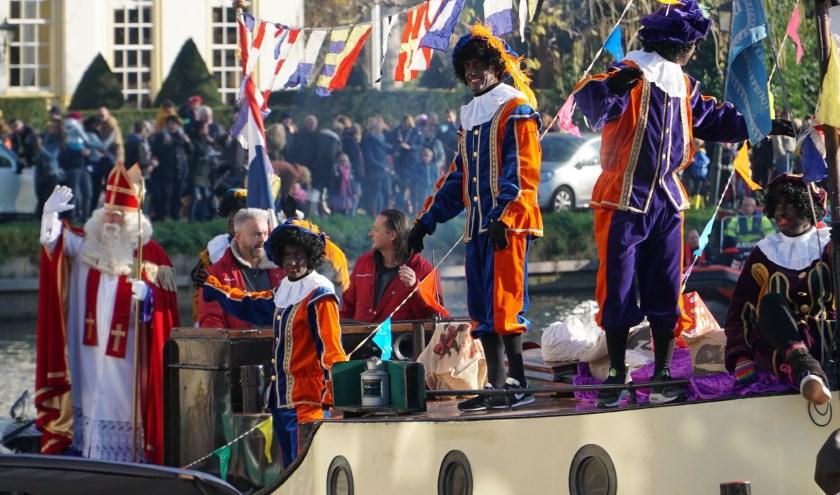 Sinterklaas en zijn Pieten arriveren zaterdag 16 november om 13.30 uur in park Goudestein in Maarssen. Foto: SSIM