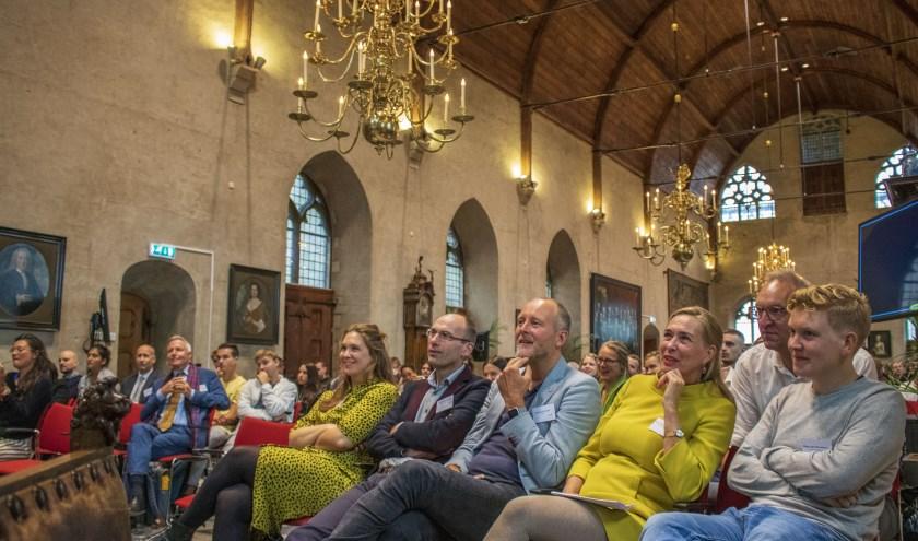 Een eerder evenement van YESC in het oude stadhuis van Middelburg trok veel bezoekers.