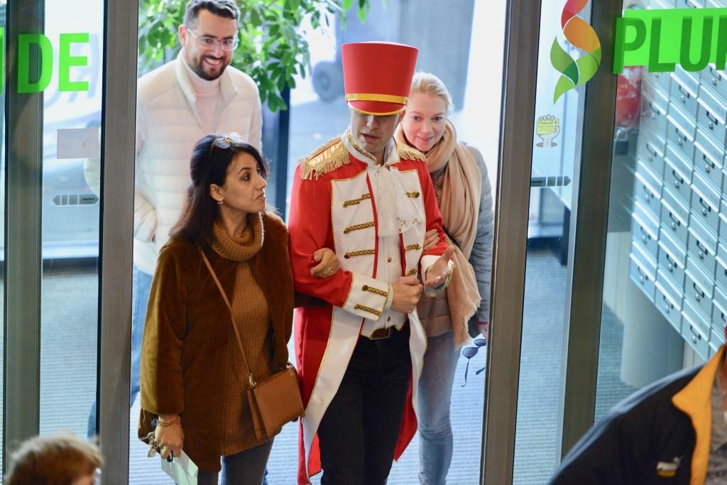 De gasten werden koninklijk verwelkomt  © DPG Media