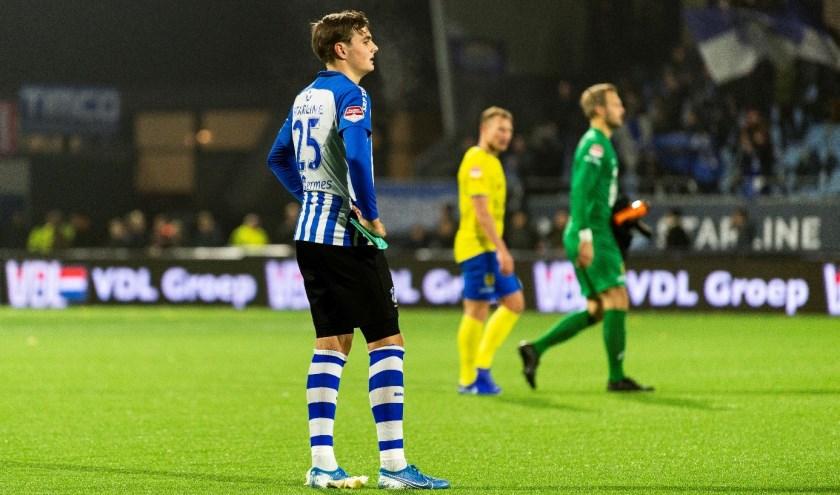 FC Eindhoven bezet na zestien speelronden de twaalfde plaats in de Keuken Kampioen Divisie. (Foto: Johan Manders)