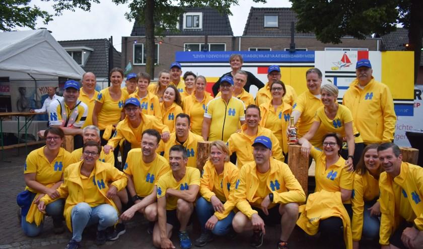 Team Welkom Wierden doet in mei 2020 weer mee aan de Roparun. (Foto: Van Gaalen Media)