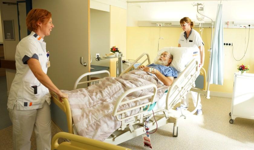 Ook tijdens de actiedag op 20 november staat de patiëntveiligheid en de zorg voor de patiënt voorop. Foto: LD Heller