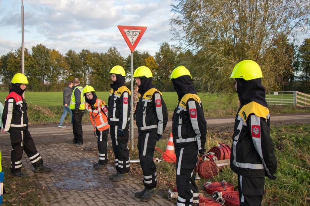 De aspiranten in actie Foto: Jurgen Versteeg © DPG Media