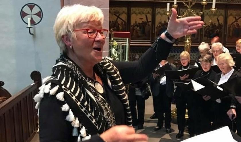 Dirigente Jenny van Ark.