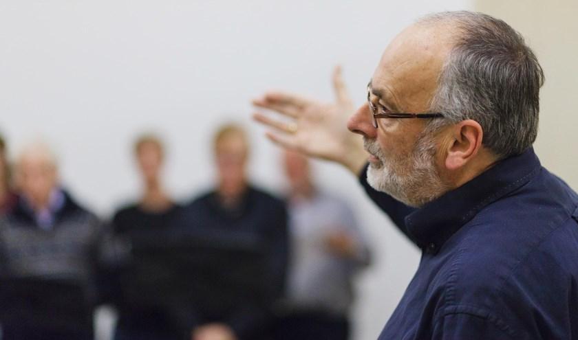 Dirigent Johan van Oeveren