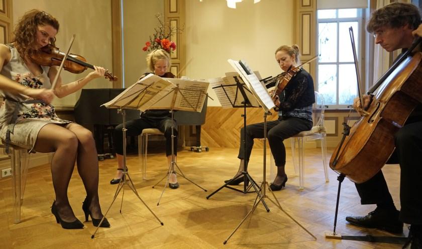 optreden Vespucci Kwartet in Van Cappellenhuis