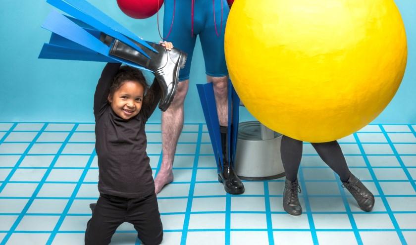 Kom naar het Peuter- en Kleuterfestival in Hof 88 en geniet onder meer van Het Grote Kleurenballet. (foto: Arjan Benning)