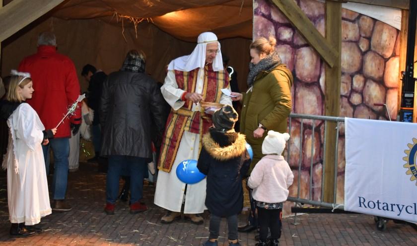Voor levende kerststal worden nog kinderen gezocht die engeltjes en herdertjes willen spelen. (Foto: Van Gaalen Media)