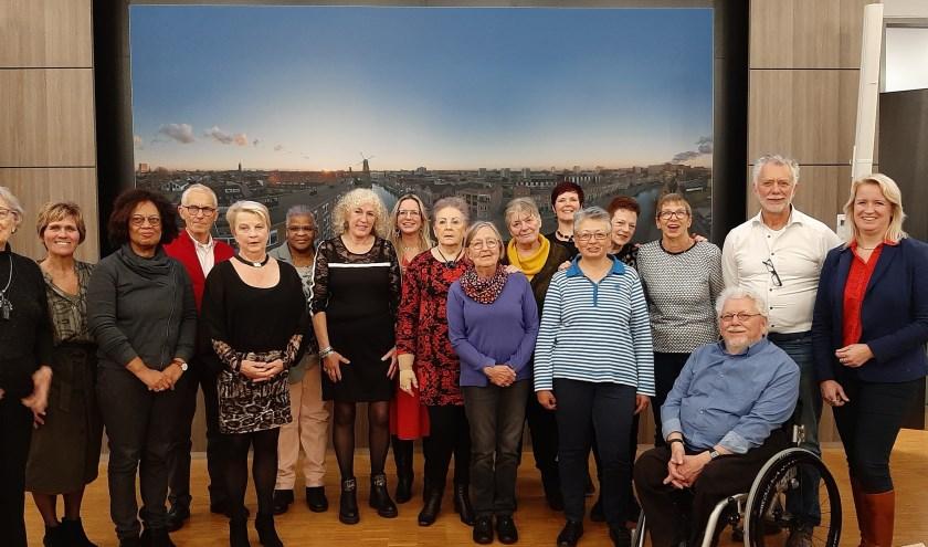 De jubilarissen zetten zich al 5, 10, 15 of meer jaar in voor cliënten van De OproepCentrale.