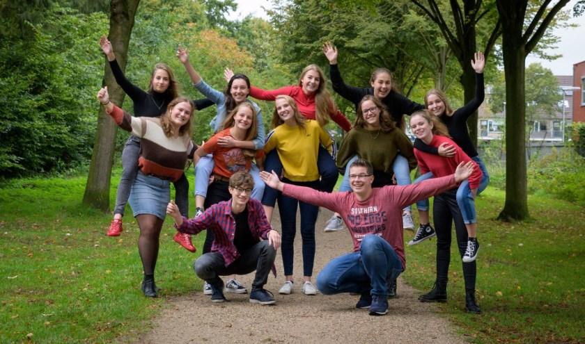 Het team. (Foto: Mariese van Ekeris)