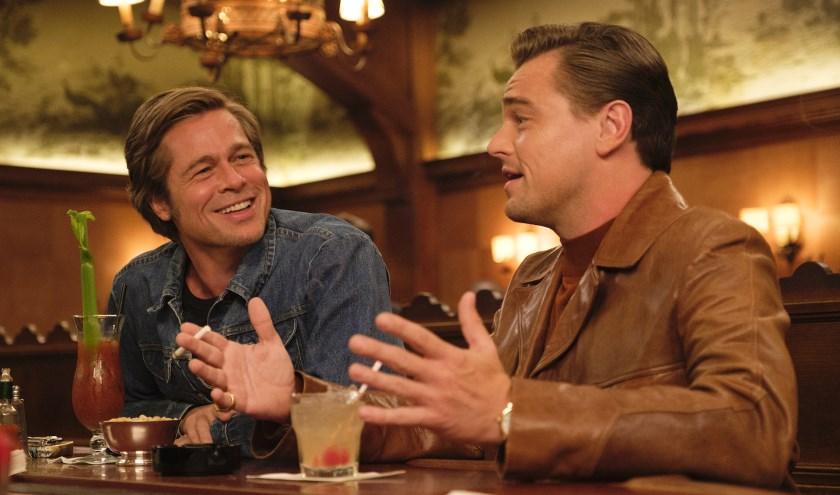 Pitt en Di Caprio spelen de sterren van de hemel in de Tarantinofilm.