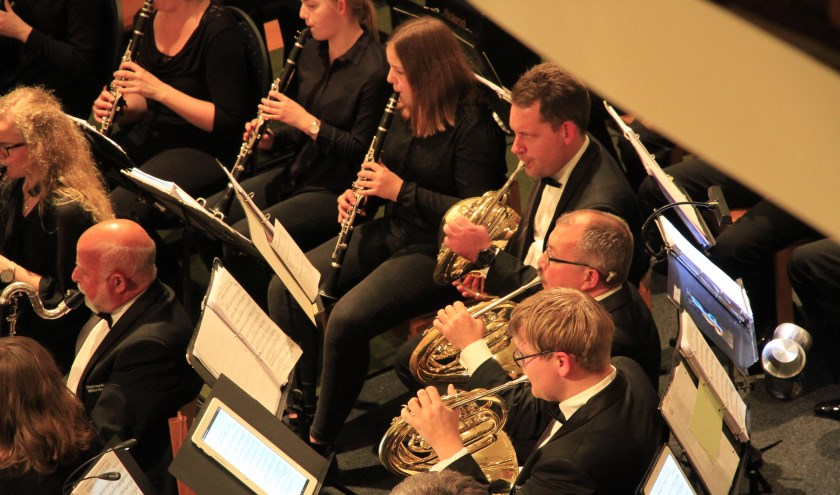 Orkest Harmonie Wierden. Foto: Anja Wevers