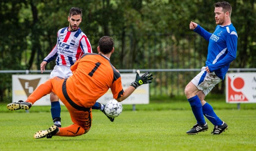 RWB won thuis met maar liefst 5-0 van Raamsdonk.