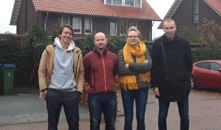 In de wijk Kernhem is een groep bewoners bezig de wijk te vergroenen en meer duurzame energie op te wekken.