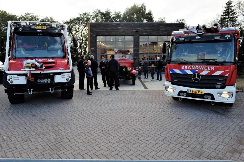 Tijdens het Open Huis was het volledige brandweermaterieel te bewonderen. (Foto's: Max Timons)