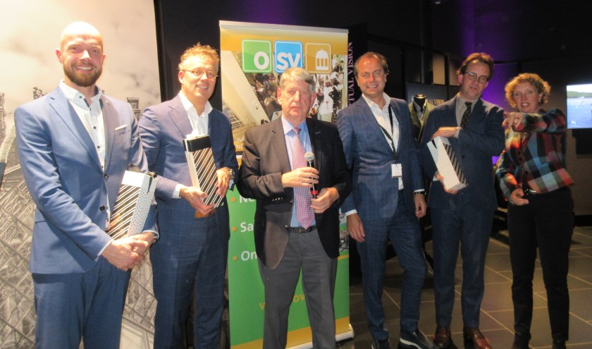 Christiaan van Oord, Mark Heiligers, Cornelis van den Ooste, Levien Meiresonne, Roel Wolbrink, Gerdine van Loon. (Foto: Ria v.Vredendaal)