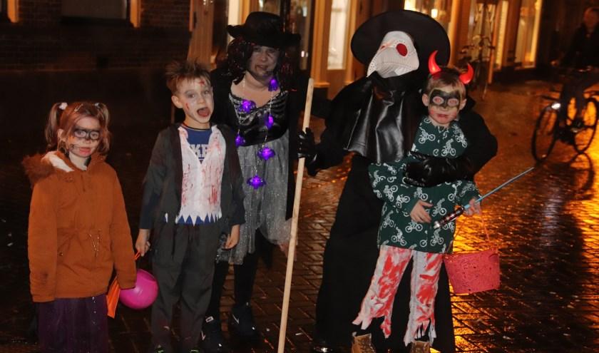 De winkeliers van de Prijssestraat zorgde voor een mooi Halloween in Culemborg