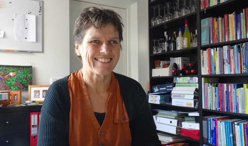 Ingrid Groenewegen uit Loenen zet zich in voor VluchtelingenWerk. Tekst en foto: Joke Stapper