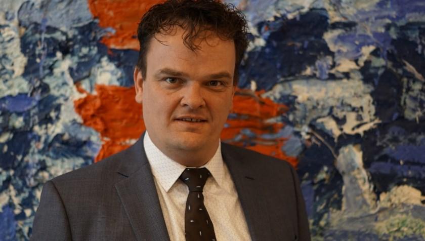 De nieuwe voorzitter van de ChristenUnie Enschede, Arjan Hof.