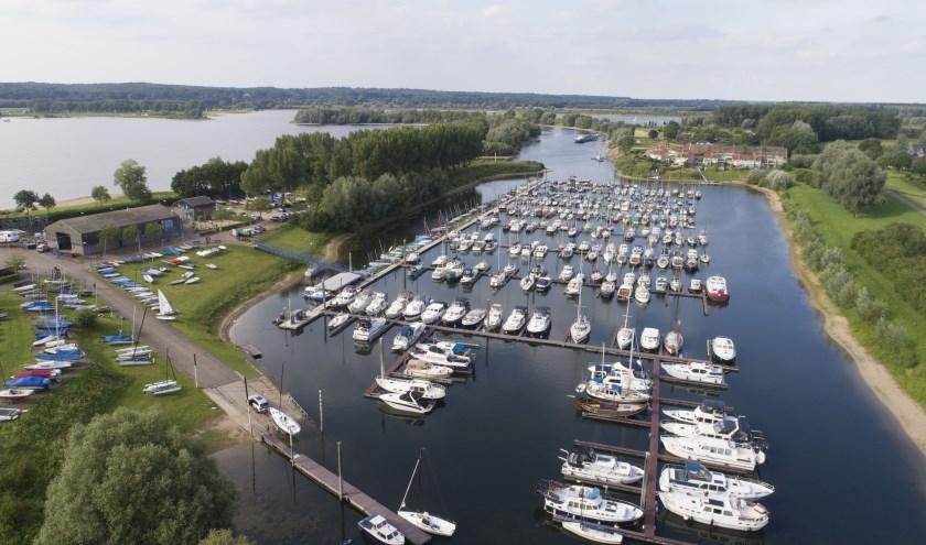 WSV Giesbeek vanuit de lucht.