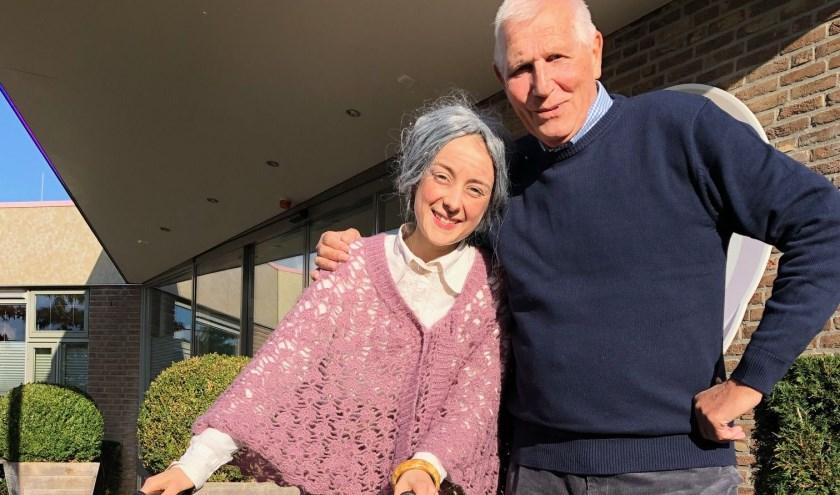 Het echtpaar Van der Leedestond centraal tijdens de Regiodag Ouderenzorg. Hun verhaal maakte direct duidelijk dat ouderenzorg per definitie draait om samenwerken. Eigen foto