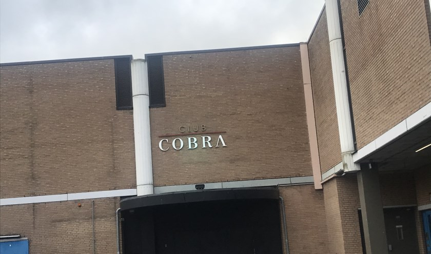 Club Cobra aan de Amsterdamsestraat.