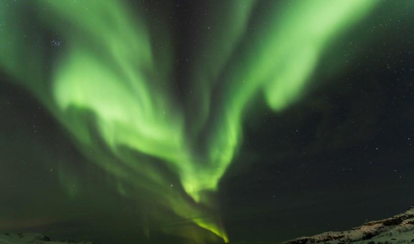 Jos van der Maarel vertelt u graag alles over het Noorderlicht. Foto: Jos van der Maarel.