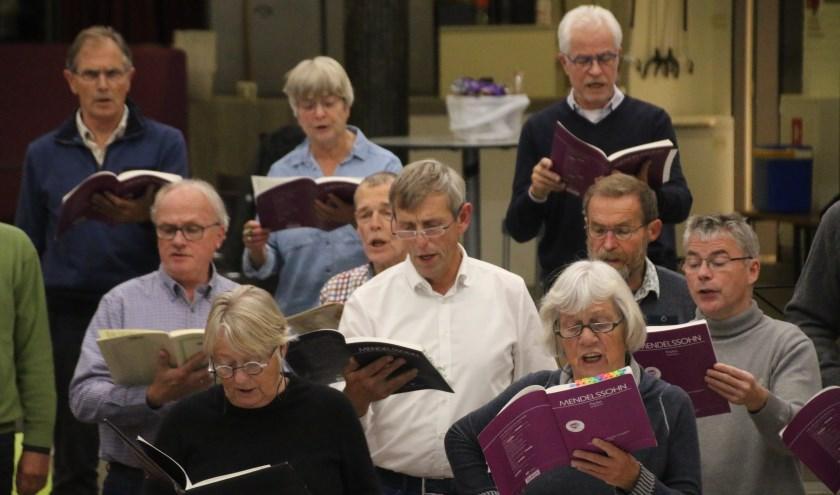 Het Toonkunstkoor brengt op 17 november samen met gasten het oratorium Paulus opus 36 ten gehore. Eigen foto.