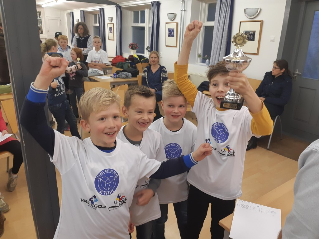 De Kraatsschool was duidelijk de beste bij de welpen. Foto: Robert-Jan van Steenbergen © DPG Media