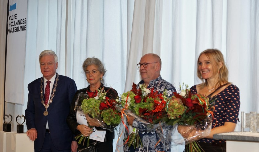 De drie winnaars van de eerste verkiezingsronde