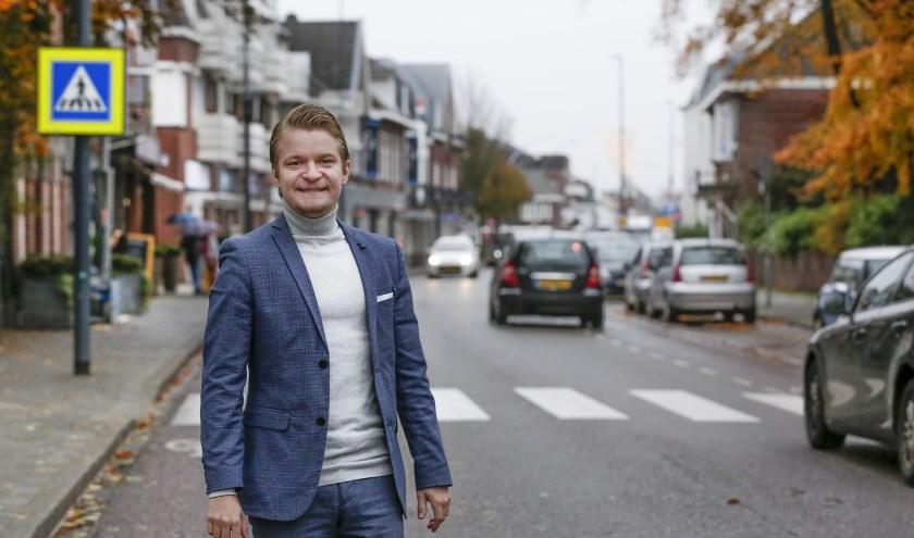 Davey Gerlings: 'Je inspannen voor jongeren is belangrijk.' (Foto: Jurgen van Hoof).