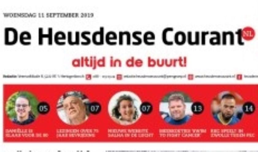 De Heusdense Courant gaat stoppen. De laatste uitgave verschijnt op 23 december.