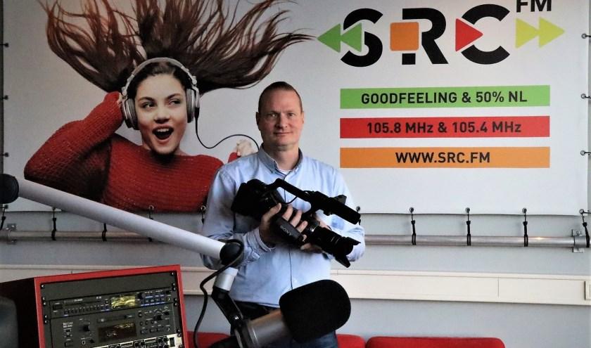 Nico Middag, de station manager van SRC, kiest voor de samenwerking met zowel Regio TV Tiel als met Novamedia. (Foto: Arno voor de Poorte)