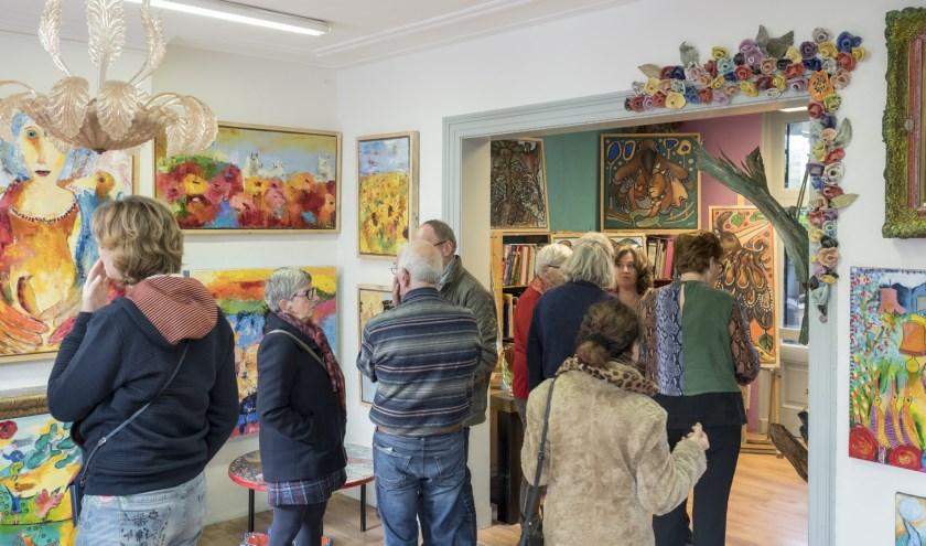 Bezoek expositie