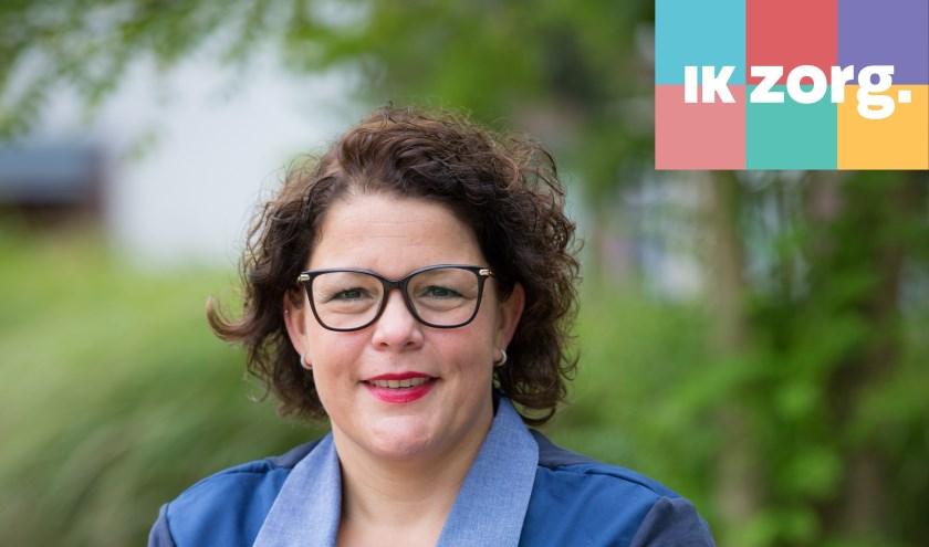 """Sandra van Tilburg: """"Het was even wennen, maar gelukkig had ik veel steun van mijn collega's en heb ik veel theoretische en praktische trainingen kunnen volgen."""""""