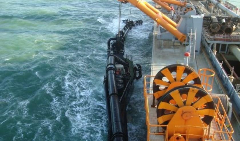 Onderwatermotor van Bakker Sliedrecht. (Foto: pr)