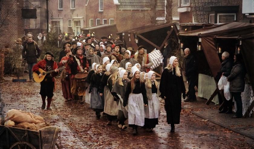 Terug in de tijd bij het Historisch Schouwspel kost 7,50 euro, kinderen tot en met 16 jaar gratis.