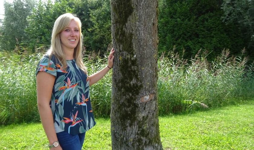 Chantal Boer heeft de Stichting Samen Op Pad HaGi opgericht. (Foto: Eline Lohman)