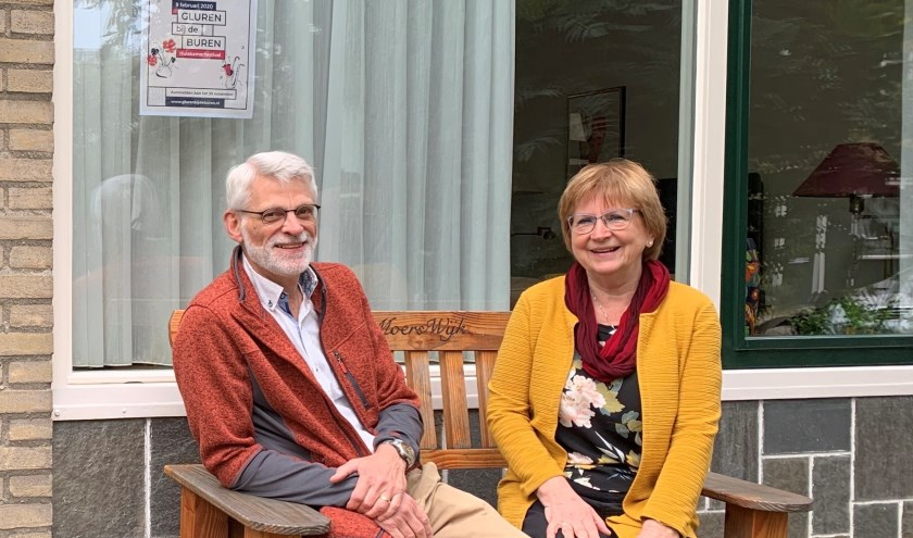 Jos en Nelleke van Wijk doen ook dit jaar weer mee met Gluren bij de Buren.