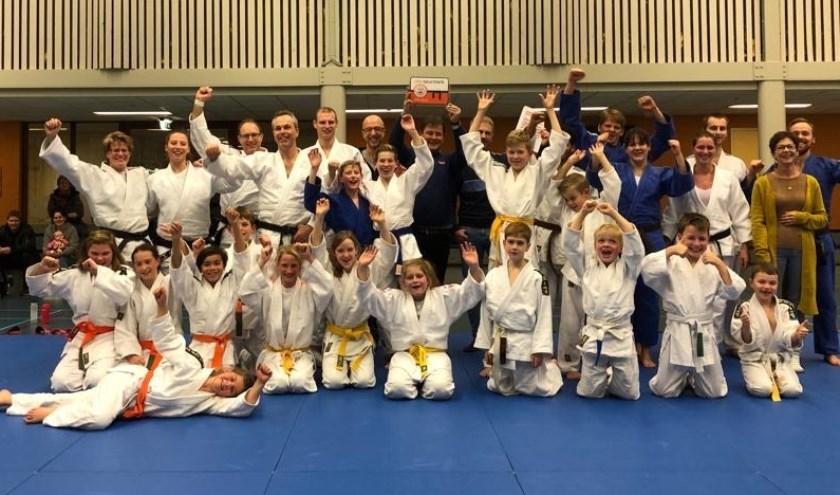 Judoka's van Judo Ryu Rijkse