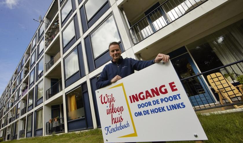 Walter Willigenburg is actief als buurtpastor in de wijk Zeist-Oost en verbonden aan Wijkinloophuis Kerckebosch.
