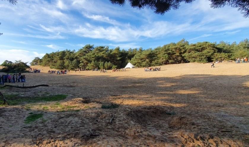 Jaarlijkse regionale herfst activiteit scouts Neder Veluwe - Wekeromse zand