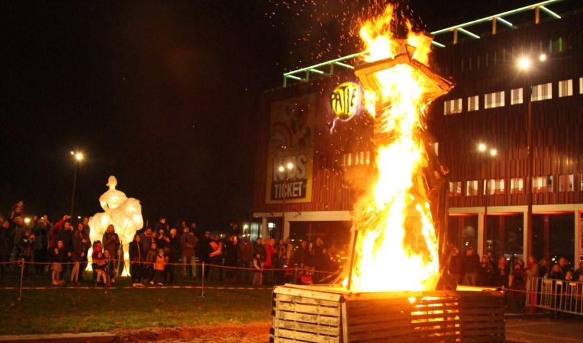 Het Vuur van Sint Maarten.